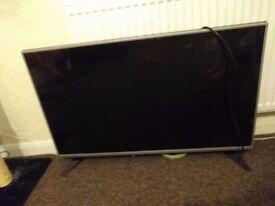 "43"" LG Television with Freeview HD. Full HD."