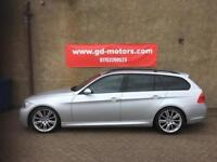 BMW 320i M SPORT AUTO TOURING (08) FULL SERVICE HISTORY, 1 YEAR MOT, WARRANTY £3495