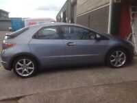 Excellent condition with two keys and all Honda Books. Any inspection welcome