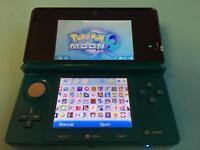 Nintendo 3DS Aqua and loads of Games
