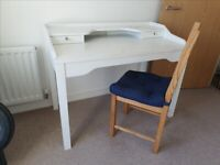Desk/Dressing Table and Chair for Refurbishment