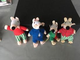 Maisy mouse soft toys