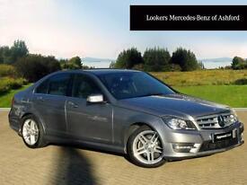 Mercedes-Benz C Class C200 CDI BLUEEFFICIENCY AMG SPORT (silver) 2013-12-09