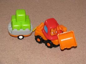 toot toot digger and trailer
