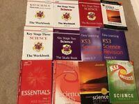 KS3 science books