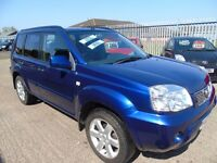 NISSAN X TRAIL FIVE DOOR ELECTRIC SEATS AND TOW BAR MUCH SOUGHT AFTER 4X4 EXCELLENT CONDITION.