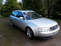 AUDI A6 QUATRO ESTATE, MOT 28 JUNE 2018, 4 NEW TYRES FITTED THIS YEAR. EXCELLENT RUNNER.
