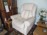 Fully Electric Leather Recliner Chair