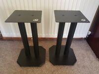 B-Tech-BT604-Atlas-Sound-Isolating-Loudspeaker-Floor-Stands-40cm-Black