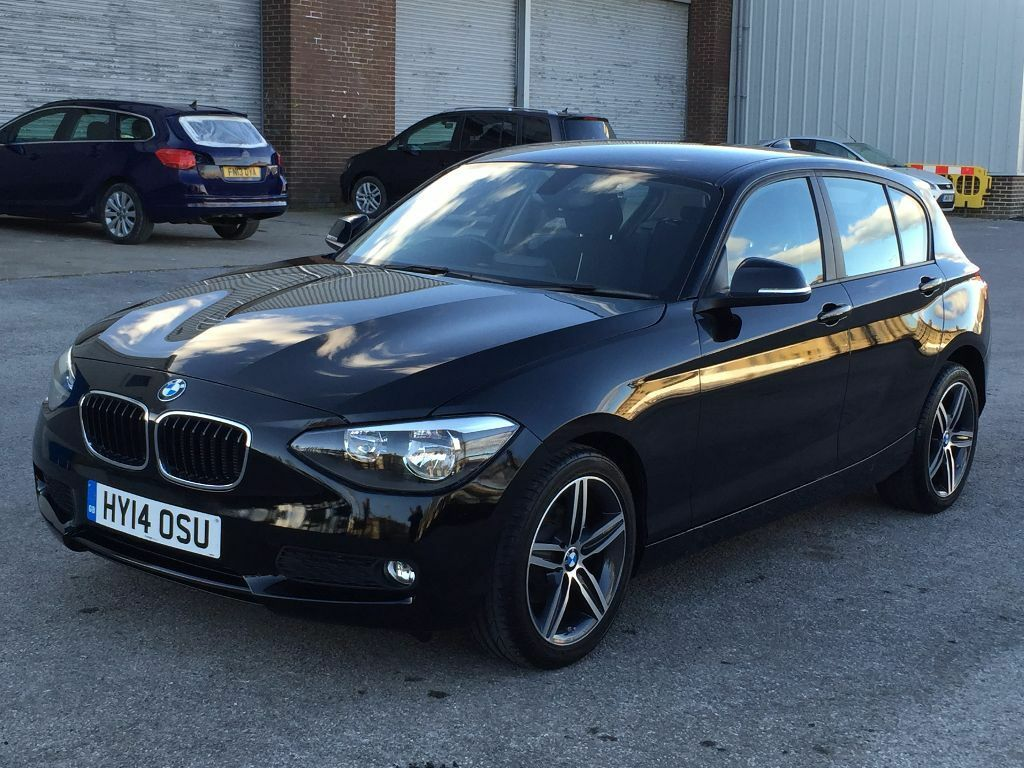 2014 Bmw 116i Sport 5 Door Hatch Metalic Black Start Stop