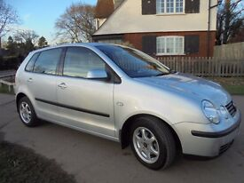 SILVER VW POLO 1.4 SE 5 DOOR , 58000 MILES, 2 LADY OWNERS