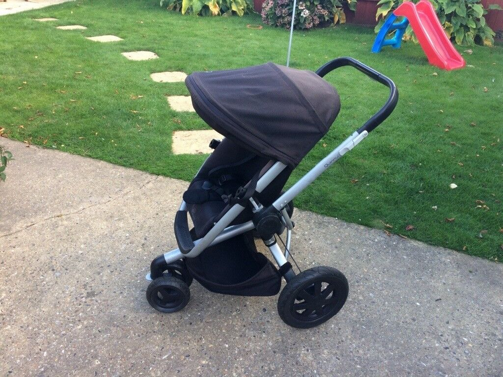 Quinny Buzz Xtra pushchair in Rocking Black