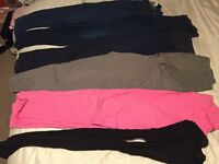 Maternity trousers- Next, Mothercare and H&M- £20