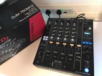 Pioneer DJM 750 MK2 Professional DJ Mixer - Fully boxed / Mint