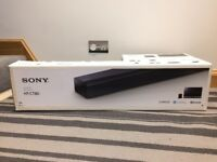 BRAND NEW Sony HT-CT80 2.1 Channel Sound Bar with Subwoofer. Virtual Sound System, 80 W, Bluetooth