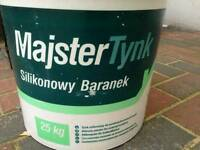 For sale silicone plaster/render for external surfaces