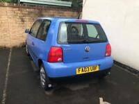 VW LUPO LOW MILEAGE IDEAL FIRST CAR