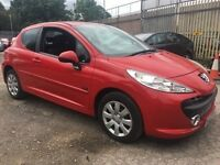 2007 Peugeot 207 1.4 m-play Hatchback 3dr Petrol Manual 72K IMMACULATE CONDITION READY TO GO