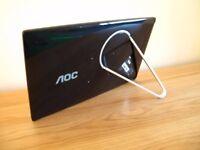 AOC 17.3 inch USB Monitor - no power supply needed.