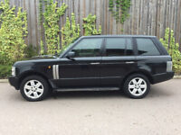 LAND ROVER RANGE ROVER + 4.4 V8 + VOGUE + PETROL + 2004 IN BLACK