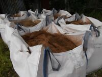 Ton Bags Of Sand ONLY £35.00. NO vat