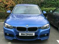 BMW 320D M SPORT FULL MAIN DEALER HISTROY 1 PREVIOUS OWNER