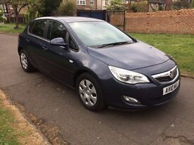 Vauxhall Astra 1.6 i VVT 16v Exclusiv 5dr,6 MONTH FREE WARRANTY, AUX, BLUETOOTH,FULL SERVICE HISTORY