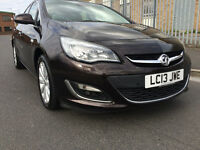 2013 VAUXHALL ASTRA SE 1.6 AUTOMATIC 1 OWNER FULL DEALER SERVICE HALF LEATHER HPI CLEAR