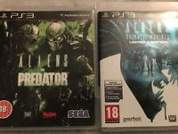PS3 - Aliens VS Predator & Alien Colonal Marines Limited Edition Games