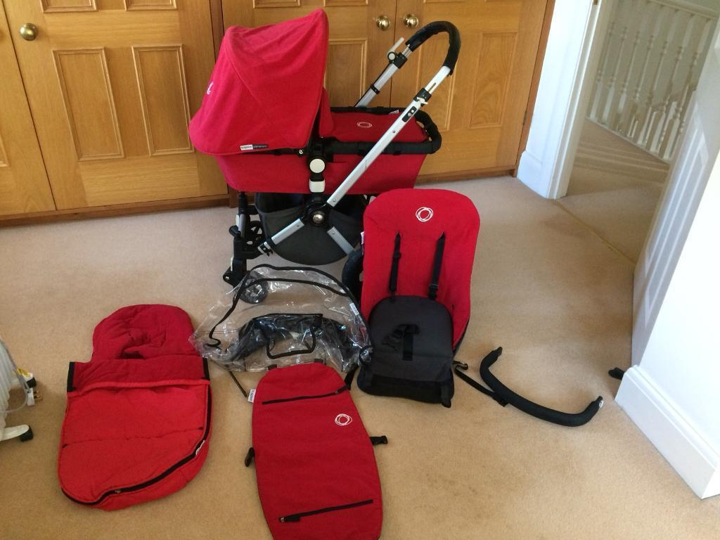 Bugaboo cameleon pram And pushchair travel system with extras