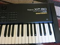 ROLAND XP-80 SYNTH WORKSTATION KEYBOARD