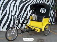 Mainstreet pedicab (be your own boss)
