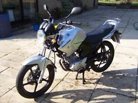 Yamaha YBR 125 - 2012, 12 Months MOT, Excellent condition, Low miles, *Free delivery