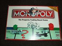 Monopoly board game with all the bits