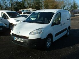 PARTNER 2013 1.6HDI ONE OWNER FSH 7-STAMPS DRIVES SUPERB £4395 NO VAT