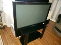 Panasonic Viera freeview hd tv(600hz) + stand - excellent condition