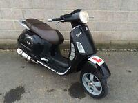 Vespa Piaggio LX 125 scooter 2004