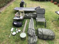 carp fishing complete gear job-lot