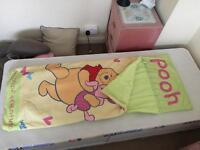 Child's fabric sleeping bag