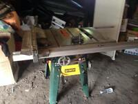 Craftex shop table saw