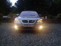 RARE 2006 BMW E61 530D M-SPORT,sat nav,Bluetooth,Msport interior,Remapped to 300 BHP 2 keys new MOT