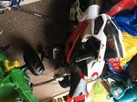 Battery powered moterbike