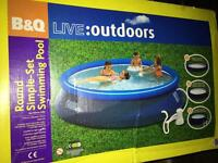 10ft swimming pool with pump and filter NEW