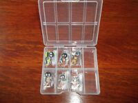 Robertsons Collector, Guitarist, Scout, Cricketer, Motorcyclist, Golfer Golly Badges Mint Condition
