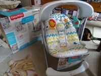 Barely used Fisher Price Swing, still with tags and Box £65 offers welcome