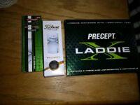 Brand New Titleist/srixon/bridgestone boxed golf balls