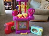 Peppa Pig Play Kitchen + additional items