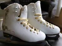 Girls ice skates size 2