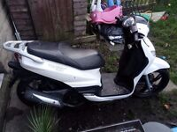 Peugeot Tweet 125cc - 2014, first MOT due April. 2000 miles only!