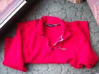 Berghaus Mens Micro fleece Half zip top Size XL